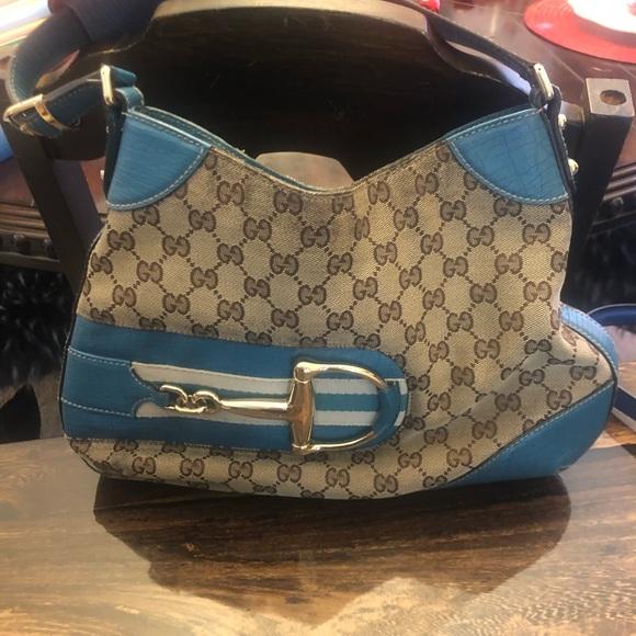 Gucci Handbags - Gucci GG Canvas Hasler Hobo GUC196624